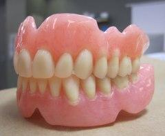 akrilik full denture